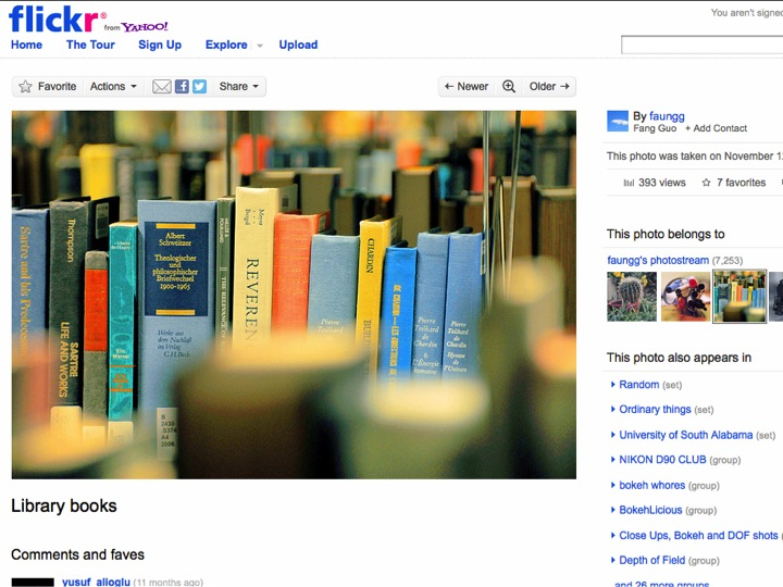 Library Image on Flickr